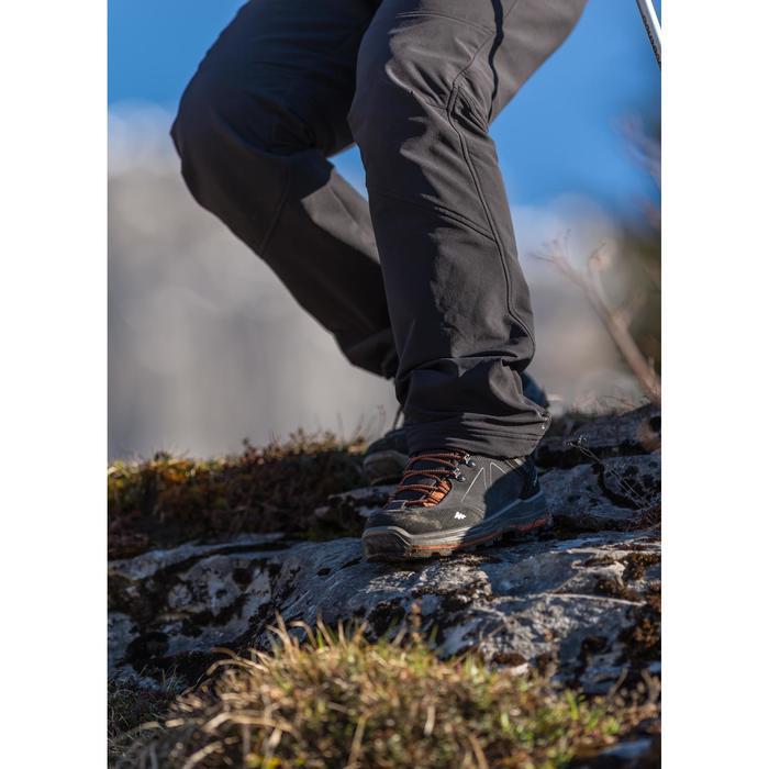 Herenschoenen voor bergtrekking Trek 100