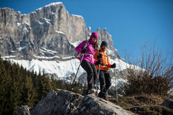 Gewatteerde damesjas voor trekking Toplight - 141921