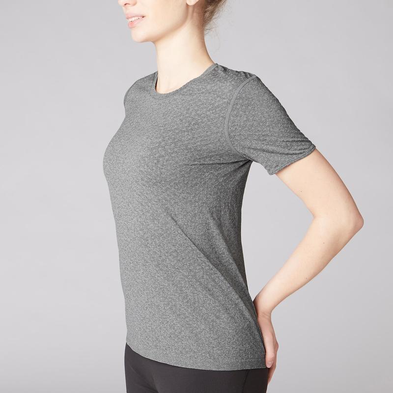 Camiseta Yoga sem Costuras  1a916cb5682b