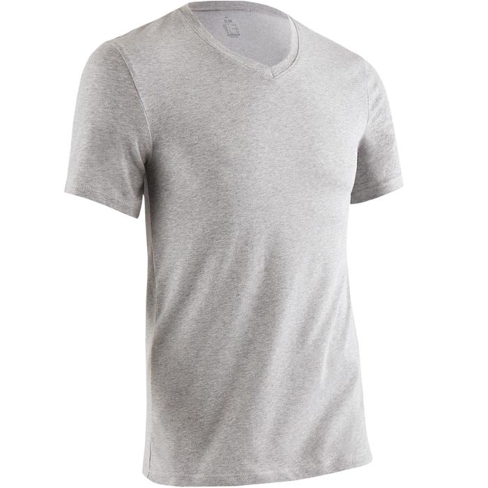 T-Shirt slim Gym & Pilates homme - 1419257
