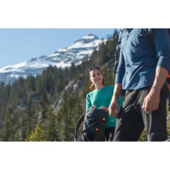 T-Shirt manches longues trekking montagne Techwool 190 femme - 141926