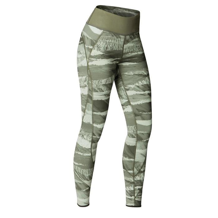 Legging réversible YOGA+ 920 femme noir / blanc print - 1419278