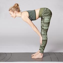 Legging réversible YOGA+ 920 femme kaki