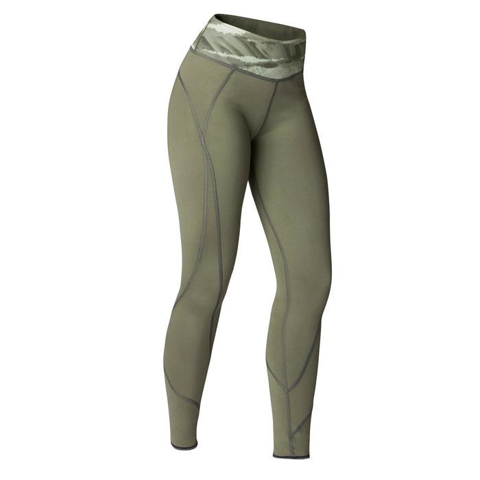 Legging réversible YOGA+ 920 femme noir / blanc print - 1419280