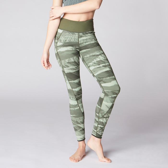 Legging réversible YOGA+ 920 femme noir / blanc print - 1419284