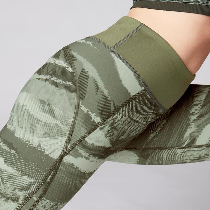 Legging réversible YOGA+ 920 femme noir / blanc print - 1419286
