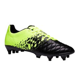 Voetbalschoenen Agility 500 SG voor volwassenen zwart/geel
