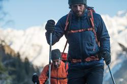 Gewatteerde herenjas voor trekking Toplight - 141932