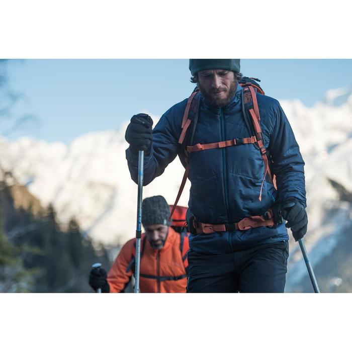 Doudoune trekking Top-light homme noir