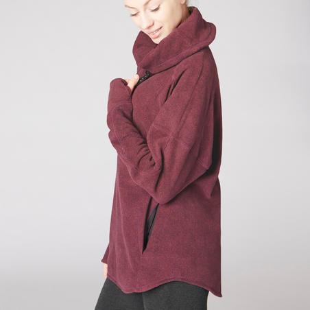 Yoga relaxation fleece sweatshirt - Women