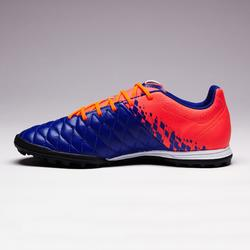 Agility 500 HG Adult Firm Pitch Football Boots - Blue/Orange