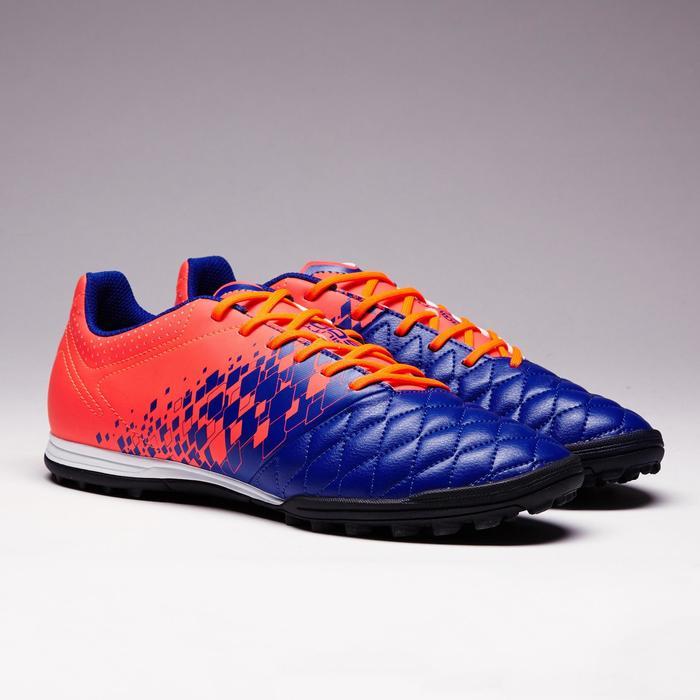 Fußballschuhe Multinocken Agility 500 HG Erwachsene blau/orange