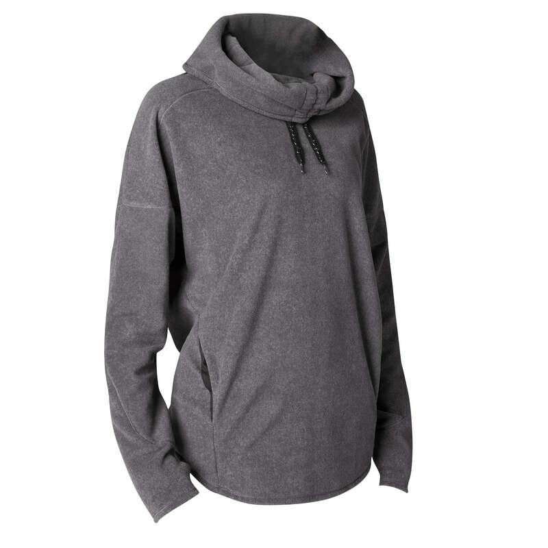 WOMAN YOGA APPAREL Clothing - Yoga Relaxation Sweatshirt DOMYOS - By Sport