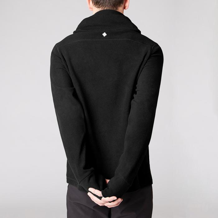 Sweat-shirt de relaxation yoga noir - 1419376