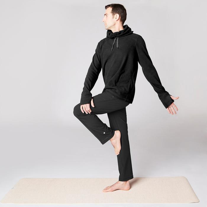 Sweat-shirt de relaxation yoga noir - 1419377