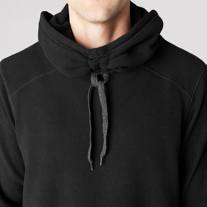 Sweat-shirt de relaxation yoga noir - 1419378