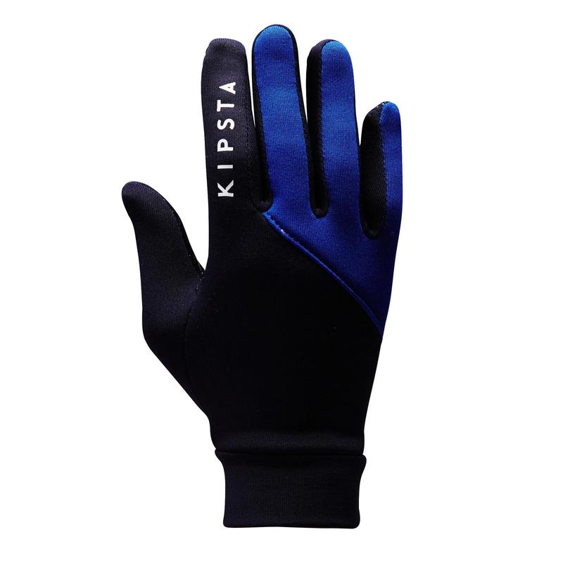 Voetbalhandschoenen voor volwassenen Keepdry 500 volwassenen blauw