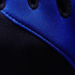 Handschoenen voor voetbal volwassenen Keepdry 500 donkerblauw