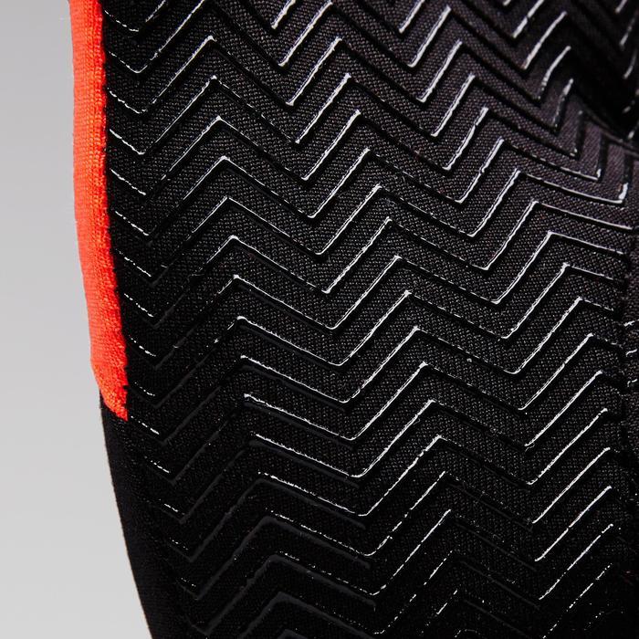 Warme handschoenen voor volwassenen Keepwarm oranje en zwart