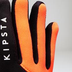 Guantes Keepwarm cálidos adulto naranja y negro