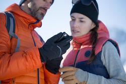 Tactiele dameshandschoenen voor trekking Arpenaz 900 oker - 141953