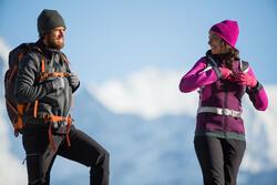 Warme stretch damessweater voor trekking Forclaz 900 gemêleerd - 141966