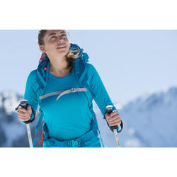 Langarmshirt Bergwandern MH150 Damen pflaume