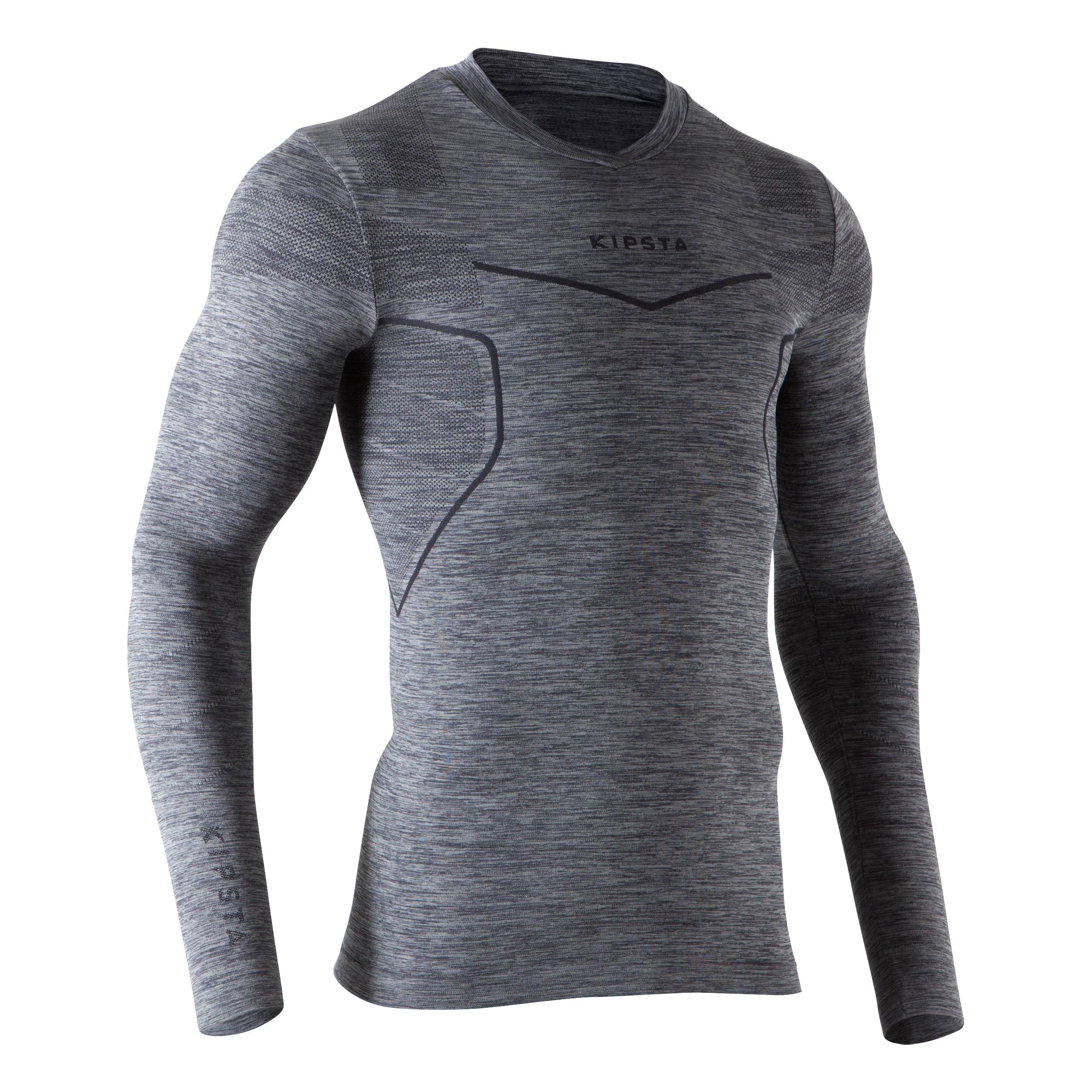 Kipsta Thermoshirt Keepdry 500 met lange mouwen thumbnail