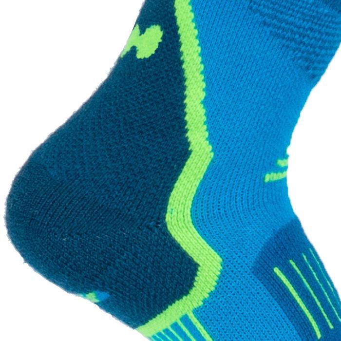 Skisokken kinderen 300 blauw/groen