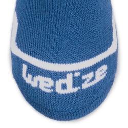 Calcetines Térmicos Esquí y Nieve 500 Niños Azul