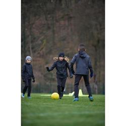 Kindermuts voor voetbal Keepwarm zwart