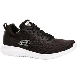 Damessneakers sportief wandelen Ultra Flex zwart