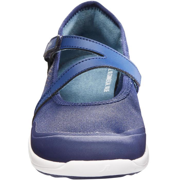 Damesballerina's voor sportief wandelen PW 160 Br'easy marineblauw