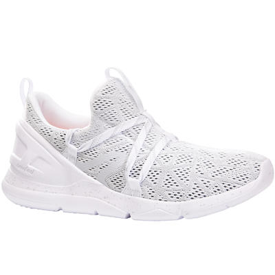 Chaussures marche sportive femme PW 140 blanc