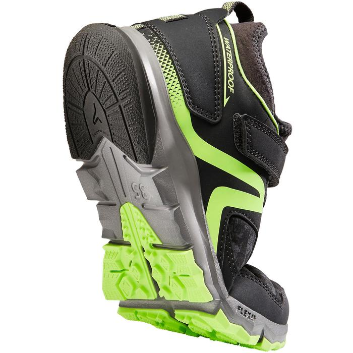 Nordic walking schoenen voor kinderen NW 580 grijs / groen