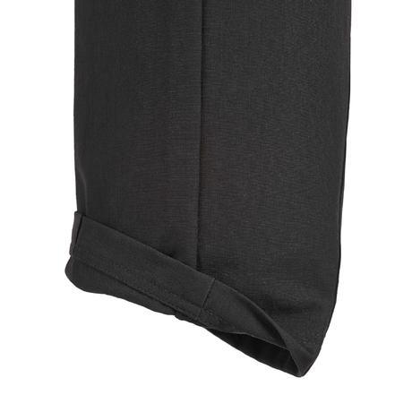 pantalon randonn e forclaz 500 femme noir quechua. Black Bedroom Furniture Sets. Home Design Ideas