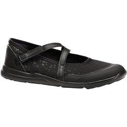 女款健走鞋PW 160 Br'easy-黑色