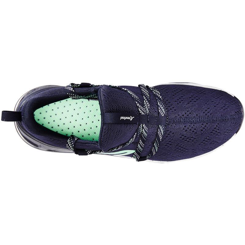 Walking Shoes for Women PW 140 - Blue/Green
