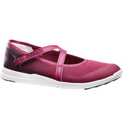 PW 160 Br'easy women's fitness walking pumps violet