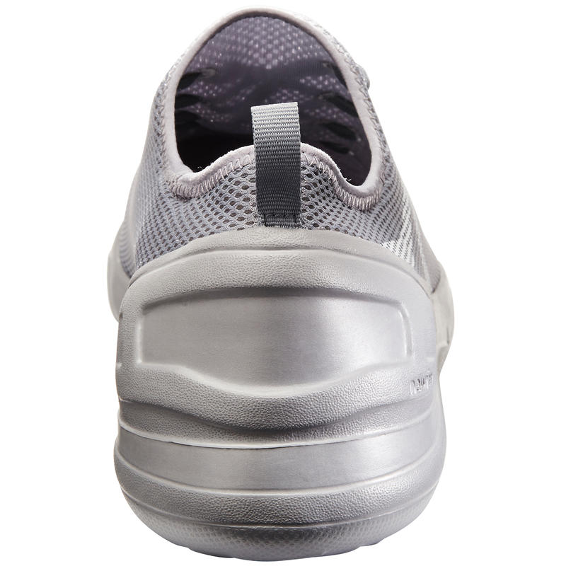 Walking Shoes for Men Fitness PW 100 - Grey