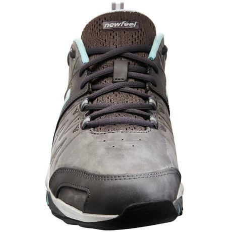 42d8ef501cd53 Chaussures marche sportive femme PW 940 Propulse Motion cuir gris / bleu.  Previous. Next