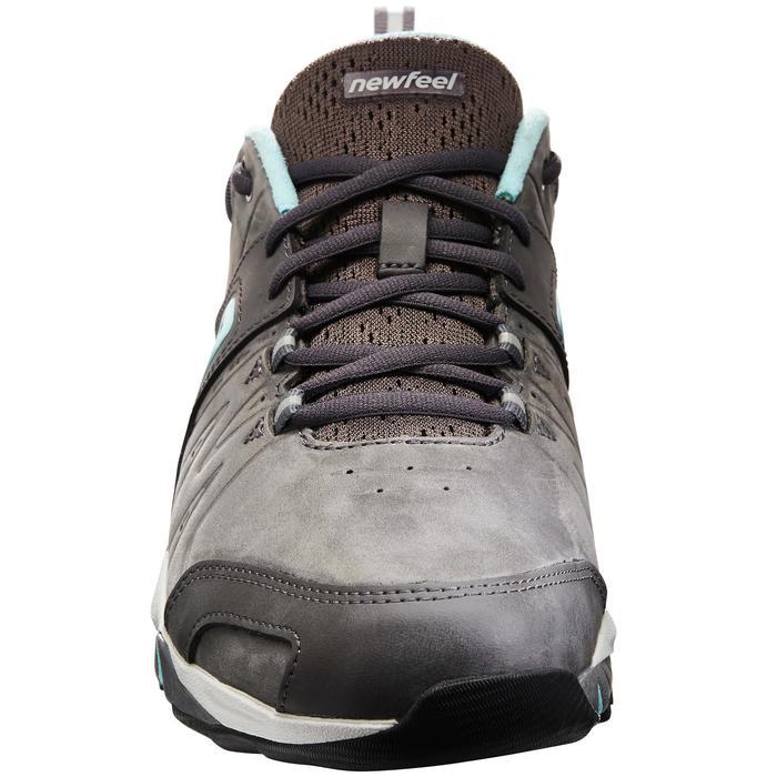 Chaussures marche sportive femme PW 940 Propulse Motion cuir gris / bleu