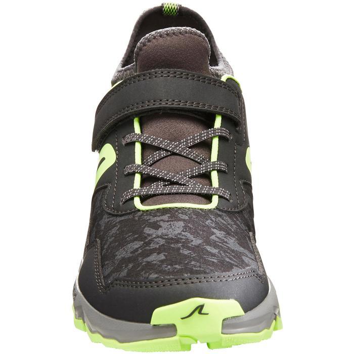 Nordic walking schoenen voor kinderen NW 580 grijs / groen - 1419851