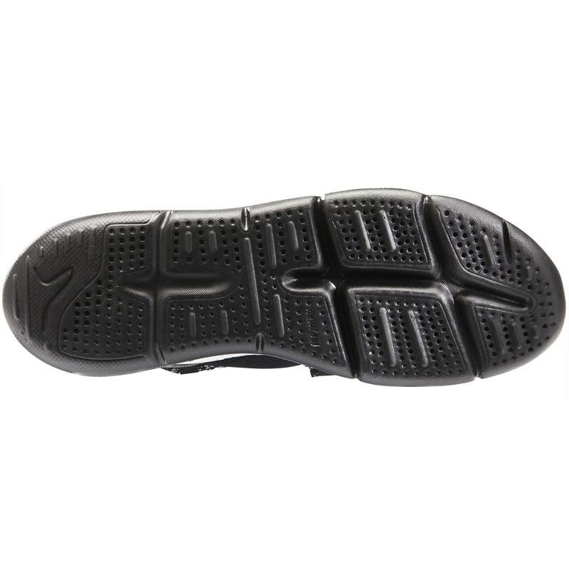 Giày đi bộ fitness PW 140 nam - Trắng/Đen