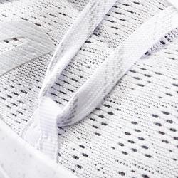Damessneakers voor sportief wandelen PW 140 wit
