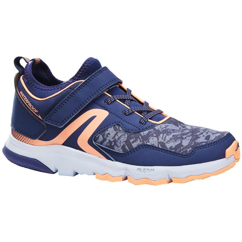 Dětská obuv NW 580 na nordic walking modro-korálová