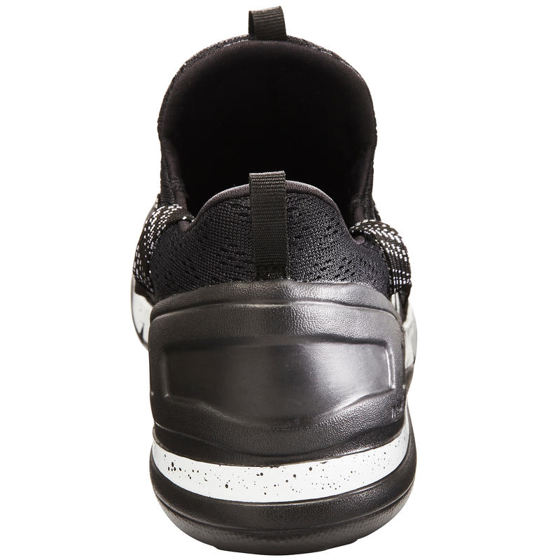 Walking Shoes for Men PW 140 - White/Black