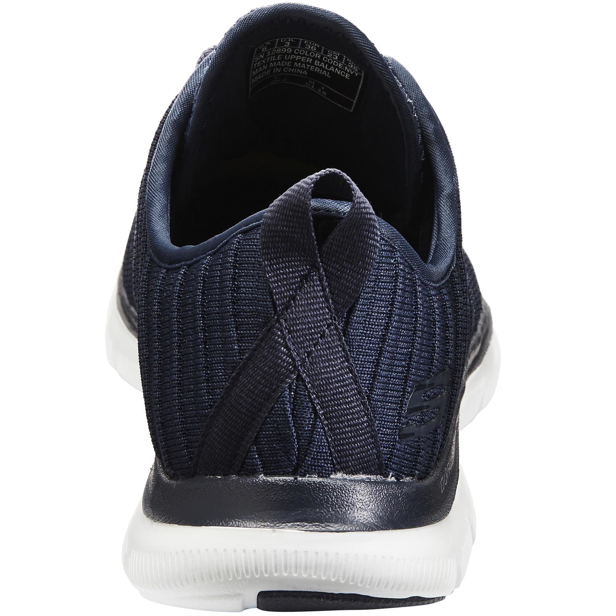 detailed look 75723 0518b Flex Decathlon Marche Appeal Skechers Femme Chaussures Sportive Bleu zPdqP