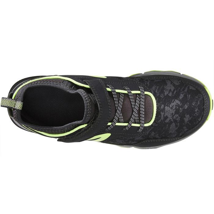 Nordic walking schoenen voor kinderen NW 580 grijs / groen - 1419886