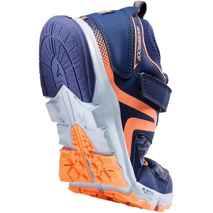 北歐健走鞋NW 580-藍色/珊瑚紅
